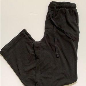 Croft&Barrow Men's Black PJ Pants, Small